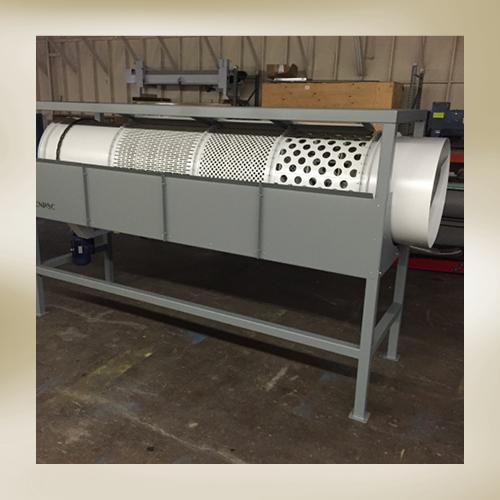 Hazelnut Processing Trammel